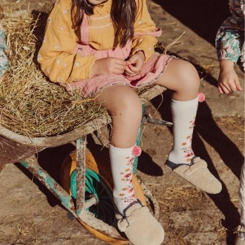 Louise Misha Socks Chelie Blush (sokken)-3
