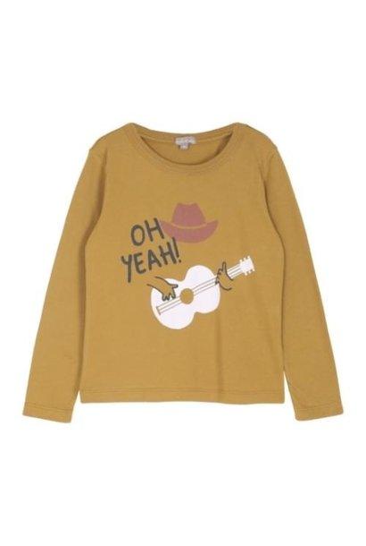 Emile et Ida Tee Shirt Toffee Cowboy Imprime (shirt)
