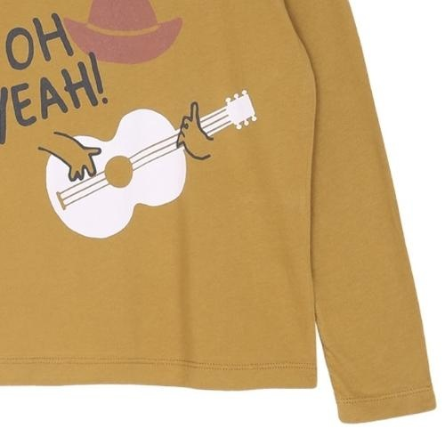 Emile et Ida Tee Shirt Toffee Cowboy Imprime (shirt)-3