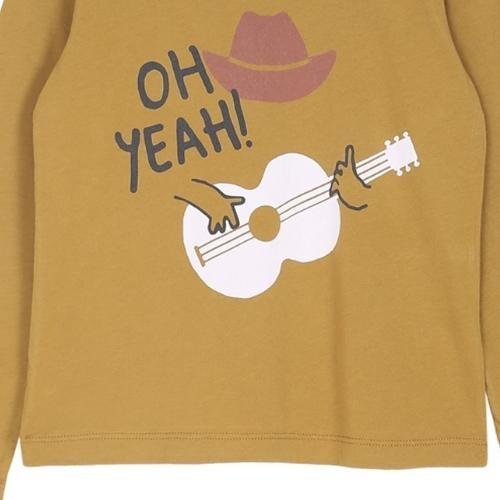 Emile et Ida Tee Shirt Toffee Cowboy Imprime (shirt)-4