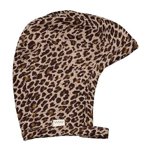 MarMar Copenhagen Leo Hoody Baby Leopard Sandstone Leo (muts)-1