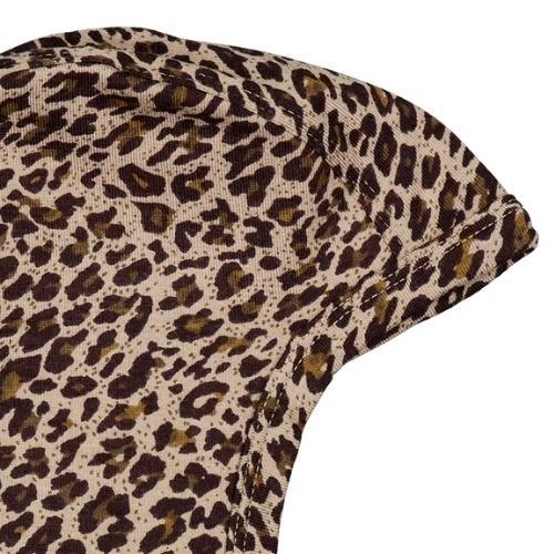 MarMar Copenhagen Leo Hoody Baby Leopard Sandstone Leo (muts)-2