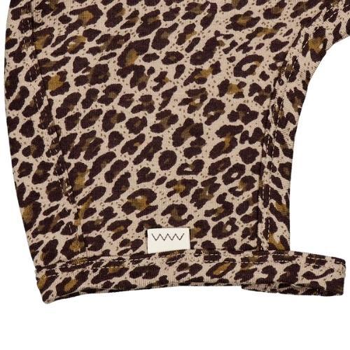 MarMar Copenhagen Leo Hoody Baby Leopard Sandstone Leo (muts)-3