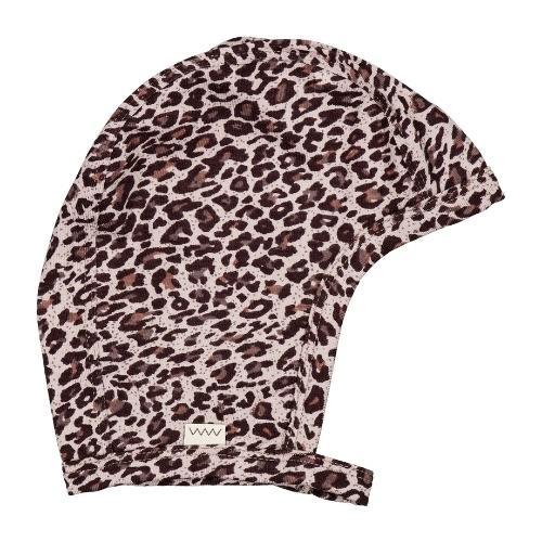 MarMar Copenhagen Leo Hoody Baby Leopard Airy Purple Leo (muts)-1