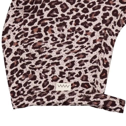 MarMar Copenhagen Leo Hoody Baby Leopard Airy Purple Leo (muts)-3