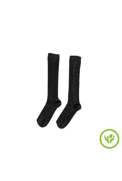 maed for mini Sassy Siamang Socks Dark grey (sokken)