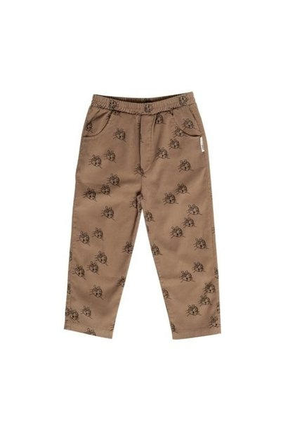 maed for mini Cheerful Caracal Chino Brown tiger aop (broek)