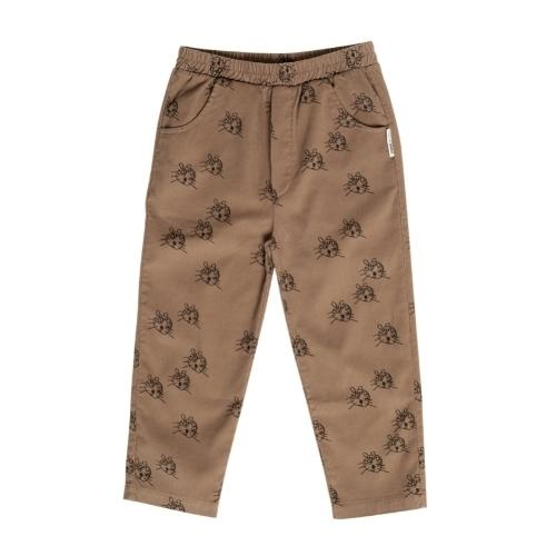 maed for mini Cheerful Caracal Chino Brown tiger aop (broek)-1