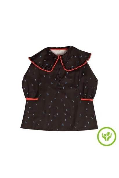 maed for mini Romantic Ray Dress Black confetti aop (jurk)