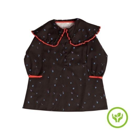 maed for mini Romantic Ray Dress Black confetti aop (jurk)-1