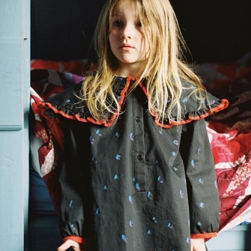maed for mini Romantic Ray Dress Black confetti aop (jurk)-2