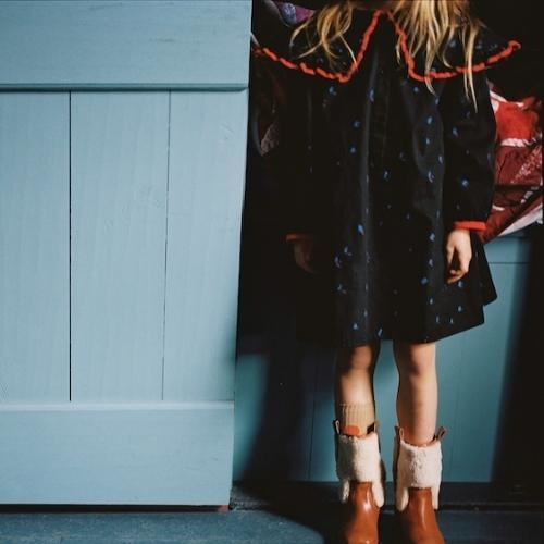 maed for mini Romantic Ray Dress Black confetti aop (jurk)-3