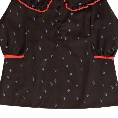 maed for mini Romantic Ray Dress Black confetti aop (jurk)-6