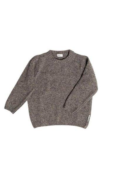 maed for mini Dazzling Dolphin Sweater Grey melange (trui)
