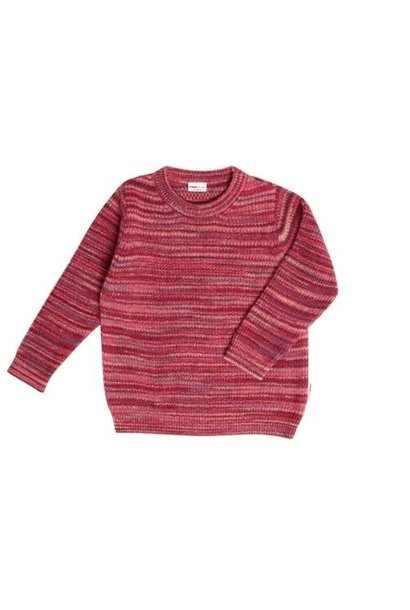 maed for mini Scarlet Scorpion Sweater Red melange (trui)