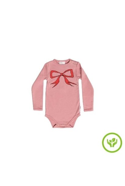 maed for mini Bow Bandicoot Romper Dusty pink (body)