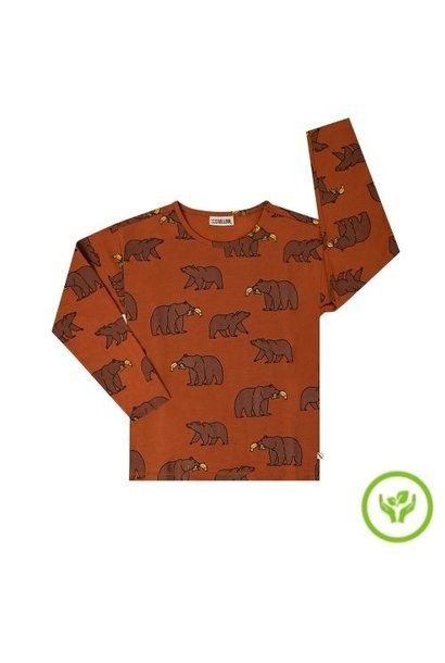 CarlijnQ Grizzly - longsleeve boxed (shirt)
