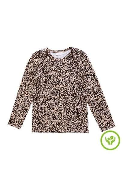maed for mini Lazy Lion Longsleeve Small leopard aop (shirt)