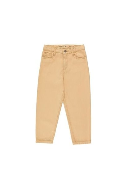 Tinycottons Solid Baggy Pant toffee (broek)