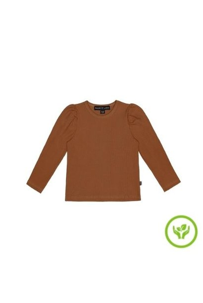 House of Jamie Puff Shoulder Tee Ginger Bread (shirt)