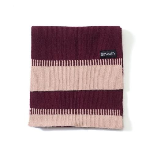 Gosoaky Little Dragon Tawny Port Red Winter Scarf (sjaal)-3