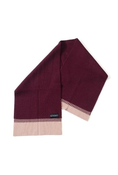 Gosoaky Little Dragon Tawny Port Red Winter Scarf (sjaal)