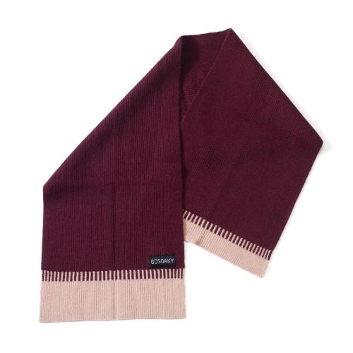 Gosoaky Little Dragon Tawny Port Red Winter Scarf (sjaal)-1