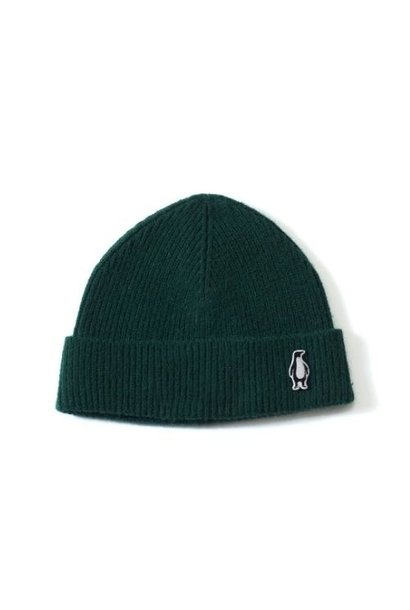 Gosoaky Red Dragon Green Forest / Penguin Badge Winter Hat (muts)