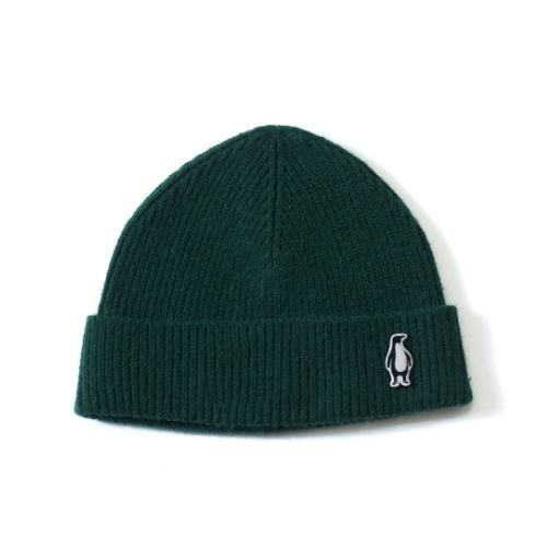Gosoaky Red Dragon Green Forest / Penguin Badge Winter Hat (muts)-1