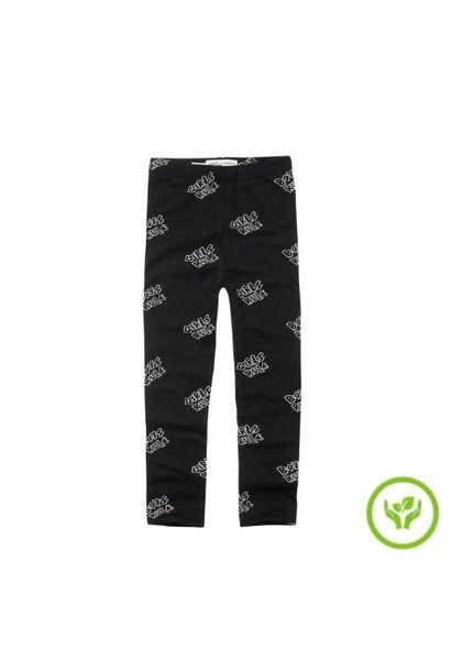 Sproet & Sprout Legging Rules Print Black (broek)