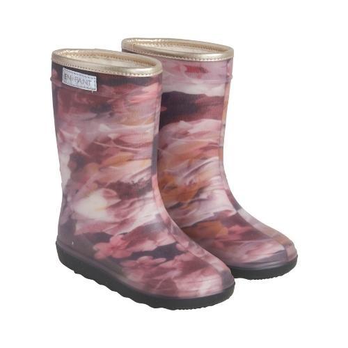 En Fant Thermo Boots Print Black (laarzen)-1