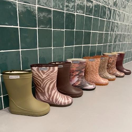 En Fant Thermo Boots Print Black (laarzen)-2