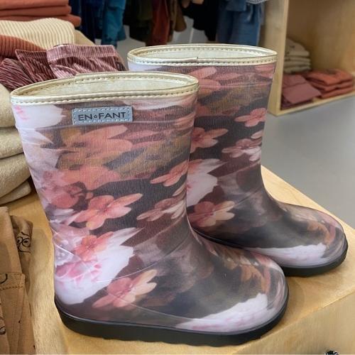 En Fant Thermo Boots Print Black (laarzen)-4