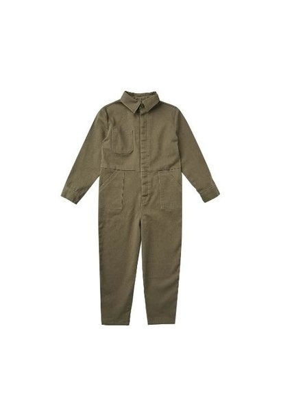 Rylee + Cru Coverall Jumpsuit Olive olive (overall)