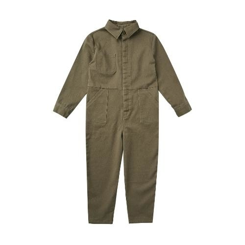 Rylee + Cru Coverall Jumpsuit Olive olive (overall)-1