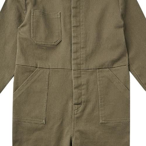 Rylee + Cru Coverall Jumpsuit Olive olive (overall)-4