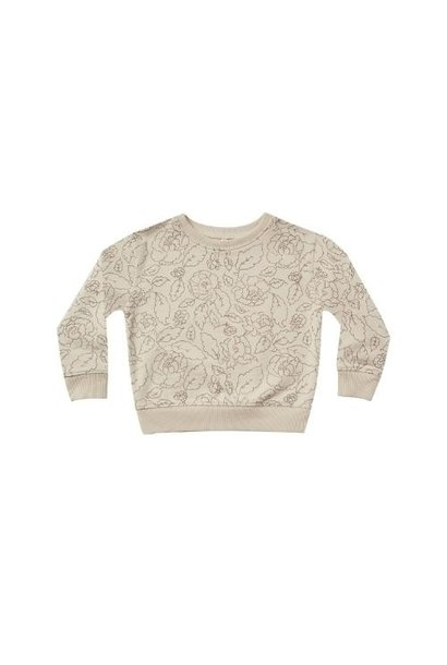 Rylee + Cru Sweatshirt Wild Rose stone (trui)