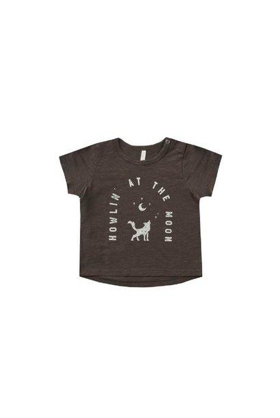 Rylee + Cru Basic Tee Howlin' At The Moon vintage-black (shirt)