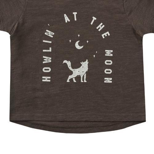 Rylee + Cru Basic Tee Howlin' At The Moon vintage-black (shirt)-4