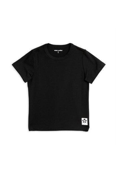 Mini Rodini Basic short sleeve tee Black (shirt)