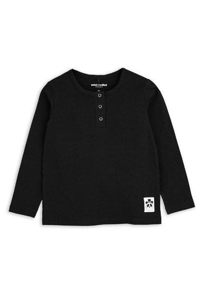 Mini Rodini Basic grandpa Black (shirt)