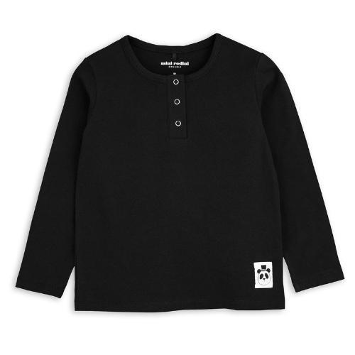 Mini Rodini Basic grandpa Black (shirt)-1