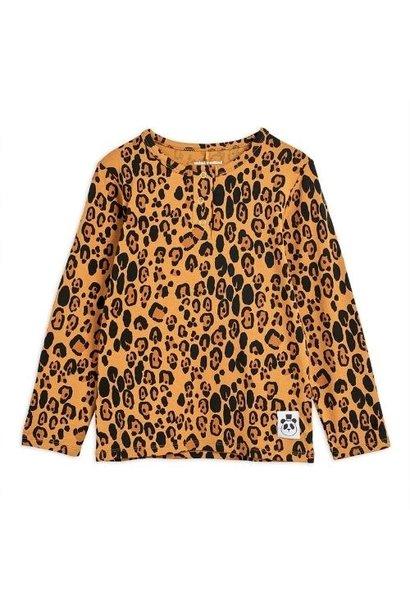 Mini Rodini Basic leopard grandpa Beige (shirt)