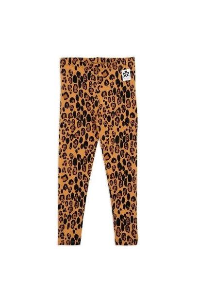 Mini Rodini Basic leopard leggings Beige (broek)