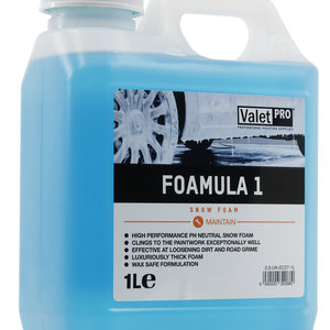 ValetPro SnowFoam Foamula 1