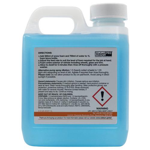 ValetPro SnowFoam / Foamula 1 - 1 Liter - Snow Foam Voorwas