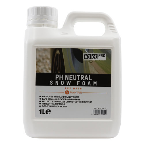 ValetPro SnowFoam Ph Neutral