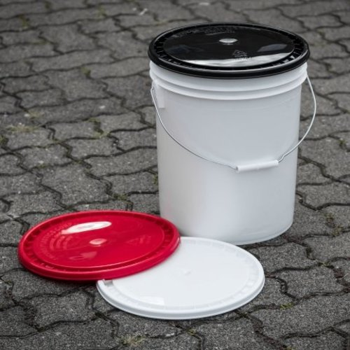 Grit Guard Deksel Wit voor Grit Guard emmer 3,5 en 5 Gallon