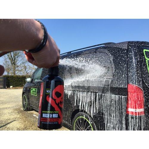 VooDoo Ride Auto Shampoo met Caranauba wax Wash&Wax  van  Voodoo Ride