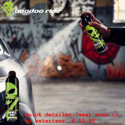 VooDoo Ride  Afwerkingswax Infinite detailer spray Voodoo Ride